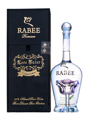 Rabee Limited Edition 24 Karat edible Gold Flakes Premium Rose Water, 750ml