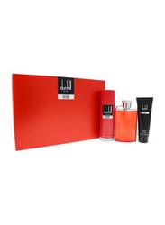 Dunhill 3-Piece Desire Red Gift Set for Men, 100ml EDT, 90ml Shower Gel, 195ml Body Spray