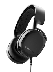 Steel Series Arctis 3 (2019 Edition) All-Platform Gaming Headset for PC/PS4/Xbox One/Nintendo Switch/VR/Android/iOS, 61503, Black