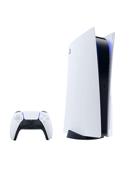 Sony PlayStation 5 Console (UAE Version), with 1 Controller, White