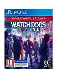 Watch Dogs Legion Resistance Edition Video Game for PlayStation 4 (PS4) by Ubisoft