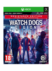 Watch Dogs Legion Resistance Edition Video Game for Xbox One by Ubisoft