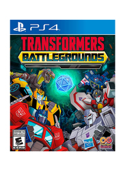Transformers: Battlegrounds Video Game for PlayStation 4 (PS4) by Outright Games
