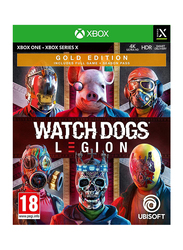 Watch Dogs Legion Gold Edition Video Game for Xbox One by Ubisoft