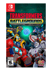 Transformers: Battlegrounds Video Game for Nintendo Switch by Outright Games