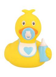 Lilalu Baby Boy Duck Bath Toy, Yellow/Blue