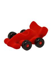 Rubbabu Soft Modena Racer Car Educational Toy, Red/Black