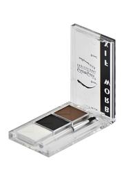 GlamGals Eyebrow Fix Kit, EFK05, White/Black/Brown