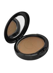 GlamGals Face Stylist Compact Powder, 12gm, CP18 Dark Choco, Brown