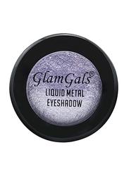 GlamGals Liquid Metal Eyeshadow, LME04 Lilac, Purple