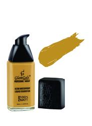 GlamGals Ultrawater Proof Liquid Foundation, 30ml, LF13 Peanut, Beige