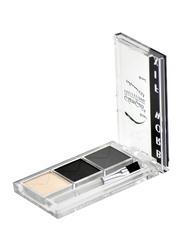 GlamGals Eyebrow Fix Kit, EFK02, Pink/Black/Grey