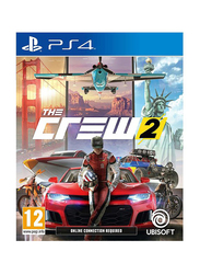 The Crew 2 Video Game for PlayStation 4 (PS4) by Ubisoft