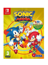 Sonic Mania Plus Video Game for Nintendo Switch by Sega