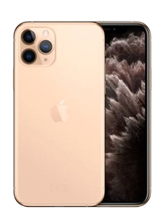 Apple iPhone 11 Pro 256GB Gold, Without FaceTime, 4GB RAM, 4G LTE, Dual SIM Smartphone