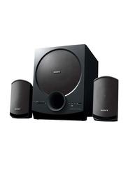 Sony SAD20 2.1-Ch Home Theater Satellite Speakers, Black