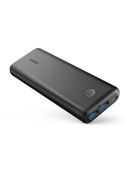 Anker 20000mAh PowerCore II Fast Charging Portable Power Bank, with Micro-USB Input, Black