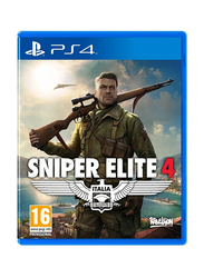 Sniper Elite 4 Video Game for PlayStation 4 (PS4) by Rebellion