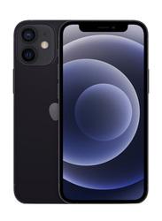 Apple iPhone 12 Mini 64GB Black, With FaceTime, 4GB RAM, 5G, Single Sim Smartphone, International Specs Version