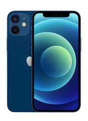 Apple iPhone 12 Mini 64GB Blue, With FaceTime, 4GB RAM, 5G, Dual Sim Smartphone, International Specs Version