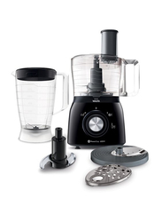 Philips Food Processor, 600W, HR763190, Black