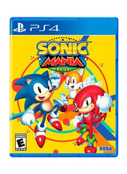 Sonic Mania Plus Video Game for PlayStation 4 (PS4) by Sega