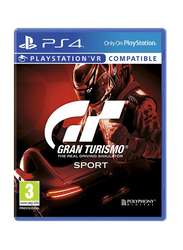 Gran Turismo Sport the Real Driving Simulator Video Game for PlayStation 4 (PS4) by Sony Interactive Entertainment