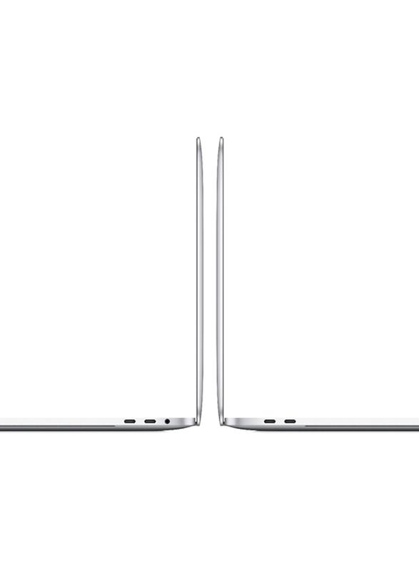 "Apple MacBook Pro (2020) Laptop, 13"" Retina Touch Display, Apple M1 Chip 8 Core GPU 1.28Ghz, 256GB SSD, 8GB RAM, 8 Core GPU, EN-KB, macOS, MYDA2ZS/A, Silver"