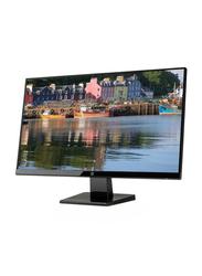 HP 27-inch Full HD LED Monitor, 1JJ98AS, Black