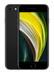 Apple iPhone SE 64GB Black, 3GB RAM, With FaceTime, 4G LTE, Dual Sim Smartphone, International Version