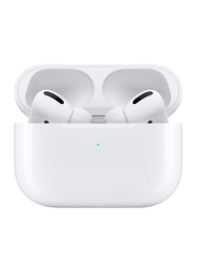 Apple AirPods Pro Wireless In-Ear Noise Cancelling Headphones with Charging Case and Mic, White