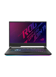 "Asus ROG Strix G15 G512LI Gaming Laptop, 15.6"" FHD Display, Intel Core i7 10th Gen 2.6GHz, 512GB SSD, 8GB RAM, 4GB NVIDIA GeForce GTX 1650 Ti Graphics, EN KB, Win 10, 90NR0383-M02460, Black"