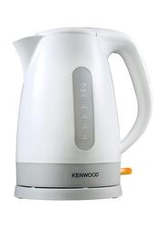 Kenwood 1.6L Electric Plastic Kettle, 3000W, JKP280, White