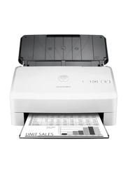 HP ScanJet Pro 3000S3 Sheet Feed Scanner, 600DPI, White