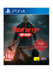 Friday the 13th The Game Video Game for PlayStation 4 (PS4) by Gun Media