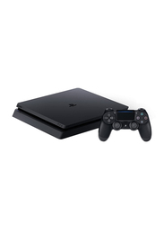Sony PlayStation 4 Slim Gaming Console, 500GB, with 2 Dualshock 4 Controller, Black