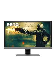 BenQ 28-inch 4K HDR LED Gaming Monitor, EL2870U, Metallic Grey