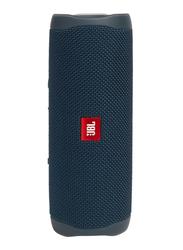 JBL FLIP 5 IPX7 Waterproof Portable Bluetooth Speaker, Blue