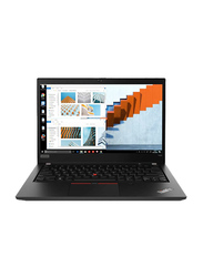 "Lenovo ThinkPad T490 Notebook Laptop, 14"" FHD Display, Intel Core i7 8th Gen 4.60GHz, 512GB SSD, 8GB RAM, Integrated Intel UHD Graphics, EN KB, Win 10 Home, 20N2002AUS, Black"