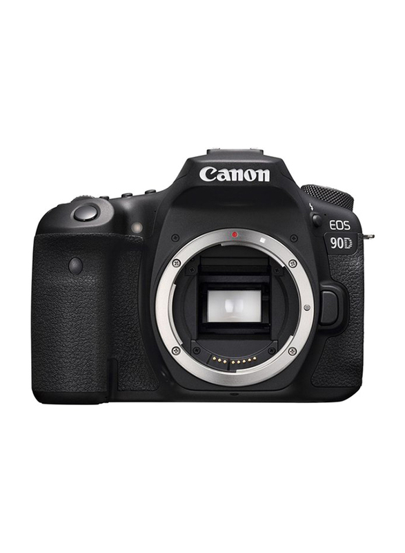 Canon EOS 90D DSLR Camera with EFS 18-135mm Lens, 32.5 MP, Black