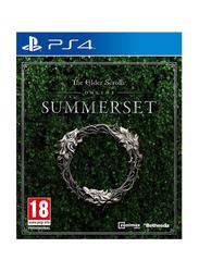 Elder Scrolls Online Summerset Video Game for PlayStation 4 (PS4) by Bethesda Game Studios