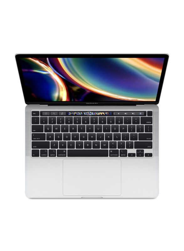 "Apple MacBook Pro (2020) Laptop, 13"" Retina Touch Display, Apple M1 Chip 8 Core GPU 1.28Ghz, 256GB SSD, 8GB RAM, 8 Core GPU, EN-KB, macOS, MYDA2ZS/A, Silver"