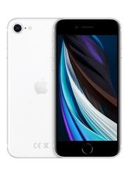 Apple iPhone SE 256GB White, 3GB RAM, With FaceTime, 4G LTE, Dual Sim Smartphone, International Version