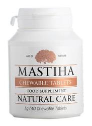 Mastiha Food Supplement, 1g, 40 Chewable Tablets