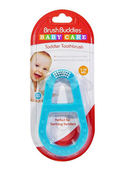 Brush Buddies Baby Toddler Toothbrushes for Babies, 852060003640, Blue