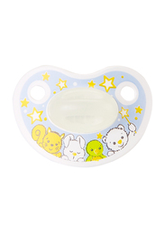 Bibi Happiness Glow SVA Dental Silicone Soother, 6-16 Months, 112922, Multicolor