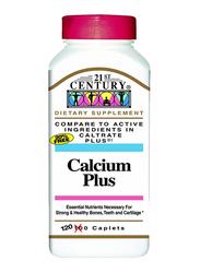 21St Century Calcium Plus Dietary Supplement, 120 Caplets