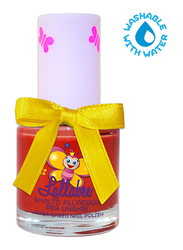 Lallabee Water Based Nail Enamel, Queen Of Hearts, Red