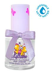 Lallabee Water Based Nail Enamel, Milk & Honey, Silver