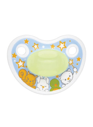Bibi Happiness Play SVA Dental Silicone Soother, 0-6 Months, 112915, Multicolor
